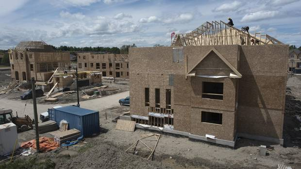 Housing Starts In Canada Pick Up In June The Globe And Mail