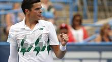 Canada has never had a male tennis player as accomplished in singles as the 23-year-old, and Milos Raonic is only looking to climb higher. (Geoff Burke/USA Today Sports)