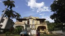 A house in Havana's Miramar prime real estate area March 18, 2013. (DESMOND BOYLAN/REUTERS)