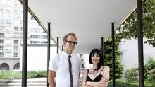 Shawn Micallef and Sonya Barnett will both be speaking at TEDxToronto, a series of talks that will be held at the Sony Centre for The Performing Arts. (Deborah Baic/The Globe and Mail)
