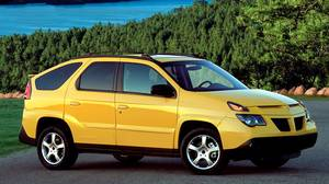 2002 Pontiac Aztek: The Aztek was sold for only five years, and was available at deep discounts, because few people would buy them.