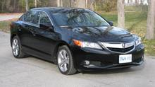 2013 Acura ILX (Bob English for The Globe and Mail)