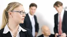Managers shouldn't turn a blind eye to employees being ostracized by colleagues. (ISTOCKPHOTO)