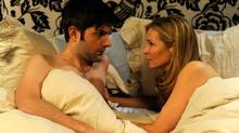"Jennifer Westfeldt and Adam Scott portray Julie and Jason in ""Friends with Kids."" (Jojo Whilden)"