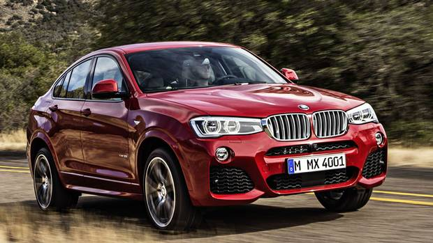 2015 BMW X4 Sports Activity Coupe (BMW)