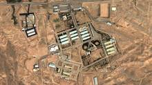 A 2004 satellite image provided by DigitalGlobe and the Institute for Science and International Security shows the military complex at Parchin, Iran. (Anonymous/The Associated Press)