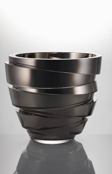 Parts Low Less Crystal and Platinum Vase by Anna Torfs, $9,000 at Avenue Road (www.avenue-road.com).