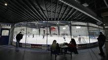 Various images, inside and out, of the rinks in The Sports Village, 2600 Rutherford Rd. in Vaughan, Ontario on Jan. 19, 2011. (Peter Power/The Globe and Mail/Peter Power/The Globe and Mail)