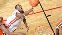 NIKE Peach Jam Basketball Tournament in North Augusta, Georgia - CIA Bounce player Andrew Wiggins (22). (Ty Freeman Photography)