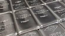 A file photo of silver bars. (LISI NIESNER/LISI NIESNER/REUTERS)
