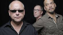 The Pixies: Black Francis, David Lovering and Joey Santiago Michael. (Michael Halsband)