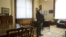 Ontario Progressive Conservative Leader Tim Hudak is seen at Queen's Park in Toronto on Dec. 13. (KEVIN VAN PAASSEN/THE GLOBE AND MAIL)