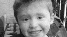 Police have issued and Amber Alert for three-year-old Alvin Barnett, who they believe was abducted by his father, 39-year-old Robert Barnett, in the Elk Valley area of southeast B.C., near Sparwood. (RCMP/THE CANADIAN PRESS)