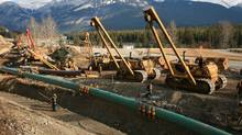 File photo of an existing section of the Trans Mountain pipeline. (Kinder Morgan/Kinder Morgan)