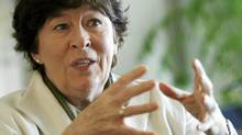 Canadian Louise Arbour, formerly the UN's High Commissioner on Human Rights, now heads the International Crisis Group. (Denis Balibouse/Reuters)