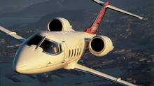 The Bombardier Learjet 60XR. Bombardier announced leadership changes at its business-jet division on Nov. 4, 2013. (Handout via Bombardier)