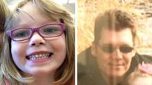Nia Eastman, left, is 120 cm tall with blonde hair and was last seen wearing pink eye glasses, a purple long-sleeved shirt with butterfly pins, a pink skirt and purple leggings. She is believed to be with her father, 45-year-old Adam Jay Eastman. (RCMP)