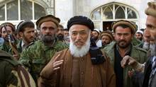 Former Afghan president Burhanuddin Rabbani was killed in Kabul. (Brennan Linsley/Associated Press)