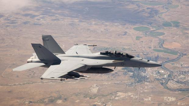 During the 2015 election campaign, the Liberals said they could acquire their own fleet of Super Hornets for $65-million per unit. (Boeing)
