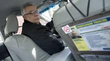 Cab driver Mohammad Reza Hosseinioun in Toronto Feb. 27, 2014. (Kevin Van Paassen/The Globe and Mail)