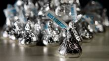 hershey kisses chocolates