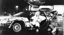 Author James Gleick argues the core concept underlying time travel in movies such as Back to the Future invariably traces back to H.G. Wells's The Time Machine. (Universal City Studios)