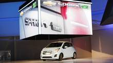 2013 Chevrolet Spark Electric Vehicle) (MARIO ANZUONI/REUTERS)