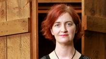 Author Emma Donoghue poses for portraits at her home in London, Ontario. (Dave Chidley for The Globe and Mail/Dave Chidley for The Globe and Mail)