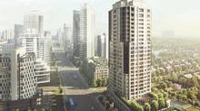 The Vanguard, set to be built in Markham, Ont., is a rare condo project in that some units will come with three or four bedrooms.