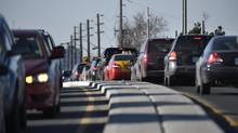 With transportation, like this rush-hour traffic on Hwy. 401 in Toronto, responsible for 43 per cent of Ontario's greenhouse-gas emissions, institutional investors must broaden their approach. (Fred Lum/The Globe and Mail)