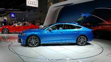 2018 Audi S5 Sportback on display at the 2016 Los Angeles Auto Show (Tom Maloney/The Globe and Mail)