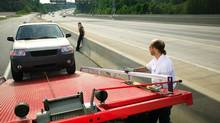 There are no shortage of horror stories from drivers getting their vehicles towed off the highway. (Thinkstock/Getty Images)