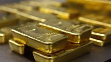 Gold bars are stacked in the safe deposit boxes room of the Pro Aurum gold house in Munich on March 3, 2014. (MICHAEL DALDER/REUTERS)