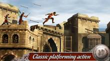 Despite the name this mobile game has very little that connects it to the Prince of Persia franchise. This could be any character in any environment. (Ubisoft)