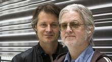 Jim Cuddy (left) and Greg Keelor of Blue Rodeo. (Canadian Press)