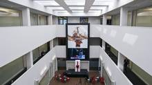 The interior of Coca Cola's new office at 335 King Street East was revealed to media and company employees, Thursday, April 4, 2013. (Galit Rodan/The Globe and Mail)
