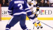 Nashville Predators defenceman P.K. Subban heads up ice during the first period of a game against the Toronto Maple Leafs on Nov. 15, 2016. (Peter Power/The Canadian Press)