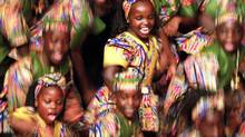 The Watoto Children's Choir of Uganda perform at the Rosarian Academy Nov. 28, 2001, in West Palm Beach, Fla. (Taylor Jones/Associated Press)