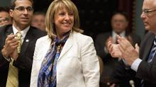 Quebec Culture Ministe Christine St-Pierre has introduced a plan to create a new model of regulation of Quebec media. (Jacques Boissinot/THE CANADIAN PRESS)