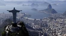Christ The Redeemer statue in Rio de Janiero, Brazil (Felipe Dana)