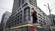 An Urbancorp development on Abell Street in Toronto. (Chris Young For The Globe and Mail)