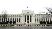 The U.S. Federal Reserve announces its key interest rate on Wednesday. (STELIOS VARIAS/Reuters)