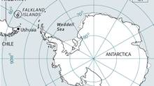 Map of South Georgia Island (The Globe and Mail/Trish McAlaster)