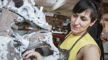 'This is a debate we shouldn't be having whatsoever,' says RBC People's Choice Award nominee Veronika Horlik, when asked if she'd consider herself a craftsperson. She sees her work, inspired by the Northern Canadian landscape, as part of a long lineage of ceramic histories.
