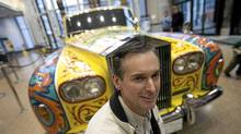 Mechanic Jim Walters is the only person allowed to drive John Lennon's old Rolls-Royce Phantom V, shown Tuesday in the Royal BC Museum. (Geoff Howe for The Globe and Mail)