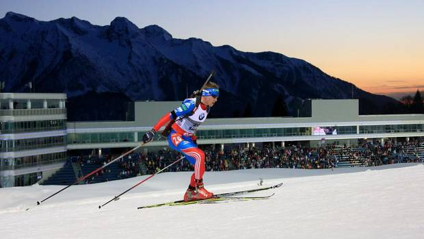 Biathlon has been part of the Winter Olympics since 1958. The new wrinkle this year at Sochi is the addition of a mixed relay team race. (Bondarenko Dmitriy)