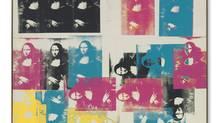 Andy Warhol, Colored Mona Lisa.