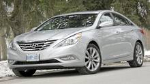 2011 Hyundai Sonata 2.0T limited (Dan Proudfoot for The Globe and Mail)