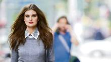 How to wear the detachable collar. (Kevin Van Paassen/The Globe and Mail)