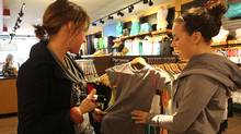 Lululemon's Kitsilano store in Vancouver (LAURA LEYSHON/Laura Leyshon/The Globe and Mail)